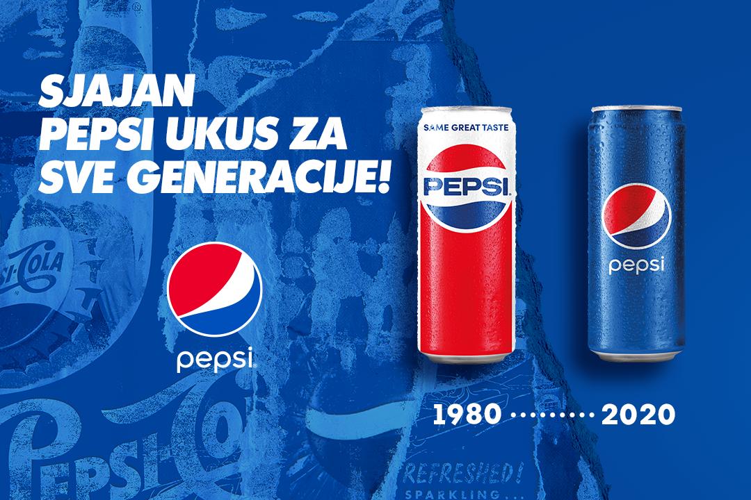 Pepsi ukus za sve generacije!