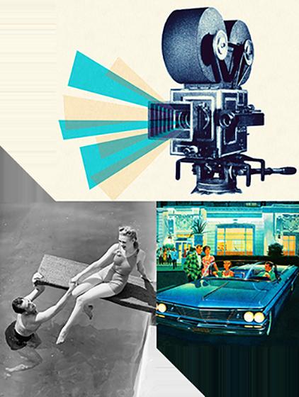 Novi zvuk je stupio na scene, a doneli su ga Čak Beri, Badi Holi i Elvis Prisli za koga je bilo opšte poznato da obožava Pepsi. Međutim, nisu nas voleli samo rokeri, fimske zvezde kao što je Džoan Kraford su Holivudu uspešno predstavili Pepsi.