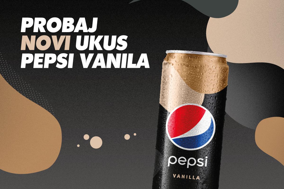 Stigla je i Pepsi Vanila