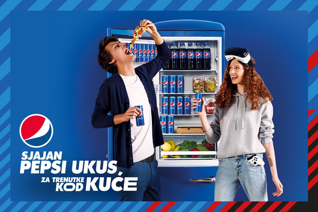 In Home - nova Pepsi kampanja